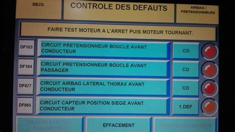 siege auto om code defaut renault clio 2 auto galerij