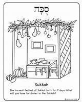 Sukkot Coloring Pages Torah Simchat Lulav Etrog Sukkah Feast Tabernacles Jewish Decorations Hebrew Crafts Yom Craft Printable Worksheets סוכות Decoration sketch template