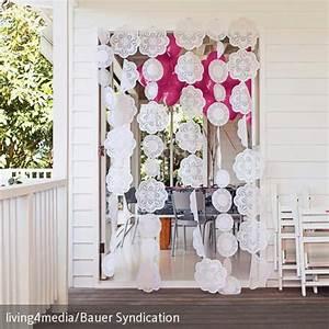 Vorhang Für Terrassentür : tortendeckchen als t rvorhang diy z gs t r vorhang vorh nge und terrassent r ~ Orissabook.com Haus und Dekorationen