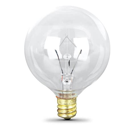 60 watt incandescent g16 1 2 feit electric