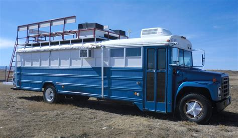 bangshift com this converted school bus just might be the bangshift live mobile command