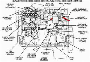 Fuel Leak From Behind Fuel Filter - Need Service Manual Diagram - Dodge Diesel