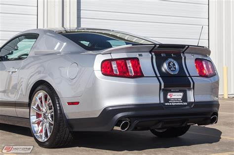 New Mustang Snake by Used 2010 Ford Mustang Only 187 From New Gt500
