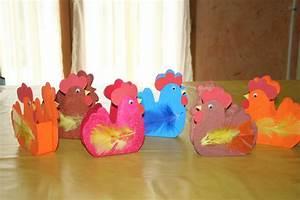Bricolage De Paques Panier : paniers de p ques en forme de poule les lutins cr atifs ~ Melissatoandfro.com Idées de Décoration