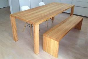 Küchentisch Mit Bank : ma gefertigte tische aus hochwertigem massivholz jetzt ~ Pilothousefishingboats.com Haus und Dekorationen