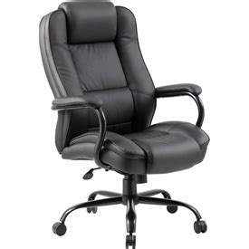chairs leather upholstered heavy duty executive