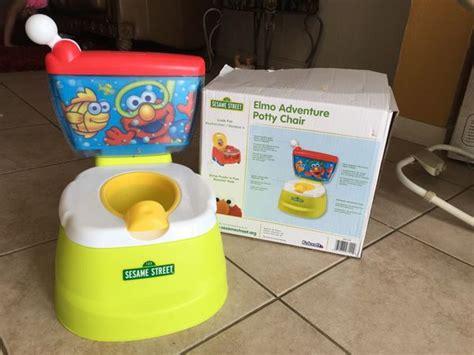 elmo adventure potty chair baby in arlington tx offerup
