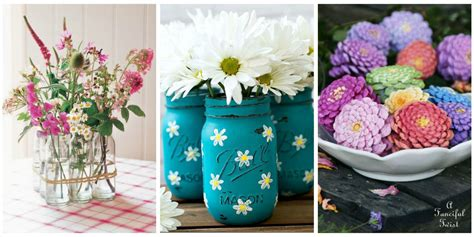 35 Easy Flower Crafts  Ideas For Craft Projects With Flowers