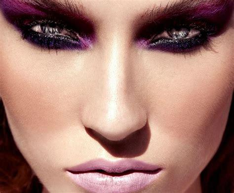 party makeup  pink  purple makeup ideas pretty designs
