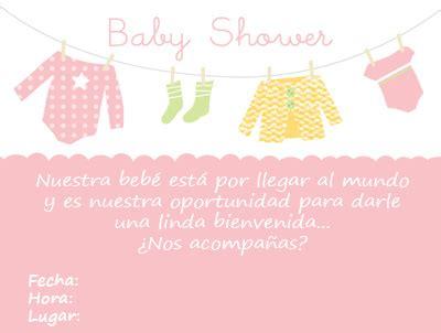 baby shower invitaciones para imprimir gu 237 a de manualidades