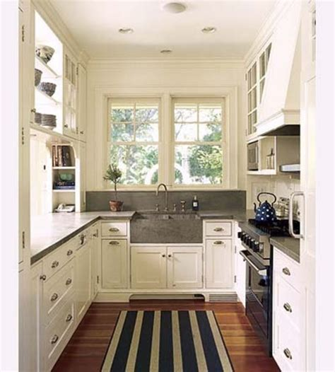 ideas for galley kitchen efficient galley kitchens design bookmark 7313