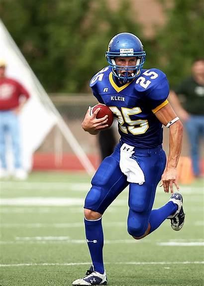 Football Player Running Sports American Sport Athlete