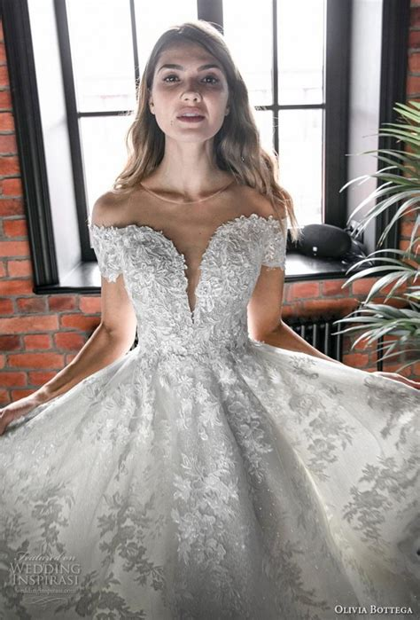 olivia bottega  wedding dresses bridalpulse