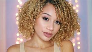 CURLY HAIR ROUTINE! 2017 - YouTube