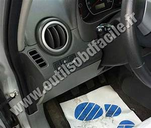 Obd2 Connector Location In Suzuki Sx4  2006