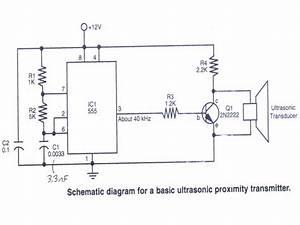 Ultrasonic Transmitter Circuit Question