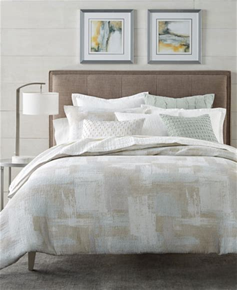 hotel collection brushstroke duvet covers created