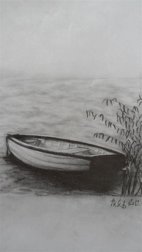 Boat Art Drawing by Pencil Drawings Pencil Drawings Boats