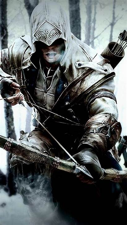 Creed Assassin Wallpapers Winter Connor Mobile Kenway