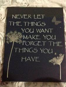 Diy wall art with quote