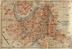 Verona Italy Map