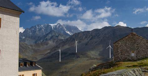 bureau d 騁ude environnement suisse des 233 oliennes menacent le grand bernard le temps