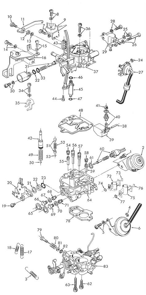 hitachi dch  exploded view carburetor factory