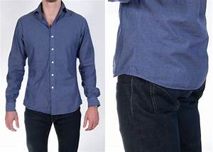 How the Shirt Bottom Width Should Fit | Proper Cloth Reference