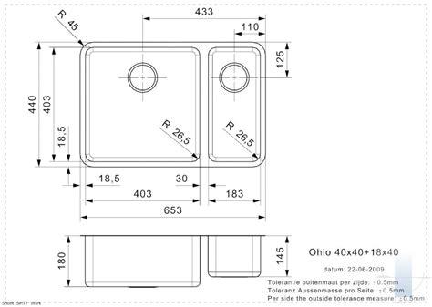 Ohio L 40x40+18x40 integrētā virtuves izlietne ...