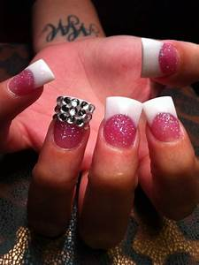 Duck feet shaped nails..I LOVE them! I want my nails done ...