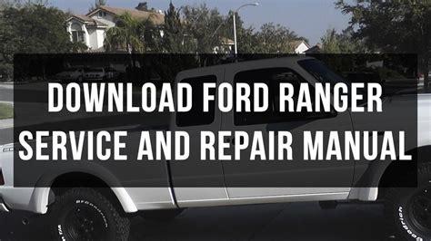 ford ranger service  repair manual