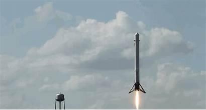 Spacex Landing Musk Elon Rocket Failed Animated