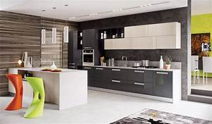 contemporary kitchen design ideas kitchens pinterest With best brand of paint for kitchen cabinets with vertical wall art ideas