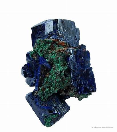 Minerals Azurite Royal Fine Irocks Striated Mineral