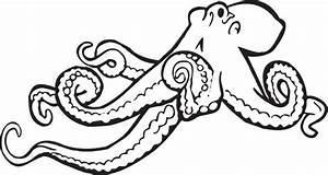 Coloring Book Octopus Clip Art at Clker.com - vector clip ...