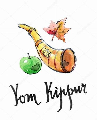 Kippur Yom Jewish Holiday Clipart Depositphotos Rosh