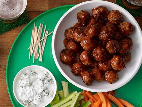 buffalo buffalo meatballs recipe food network kitchen