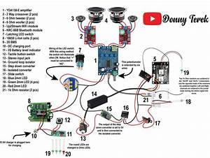 Portable Bluetooth   Wifi Speaker Build