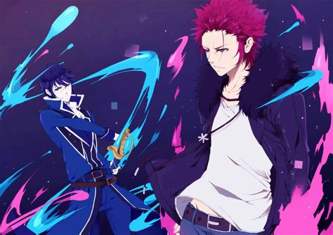 Anime K Wallpaper - mikoto and reisi wallpaper and background image