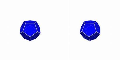 Dodecahedron Animated Stereo Commons Solids Gifs Cube