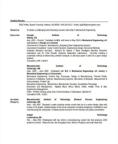 Our sample resumes for mechanical engineers are designed to highlight a prospective applicant's objectives, skills, and experience needed to get hired in for other fields of engineering, our sample engineer resumes will help applicants from different branches of engineering craft their resumes. Engineering Resume Template - 32+ Free Word Documents ...