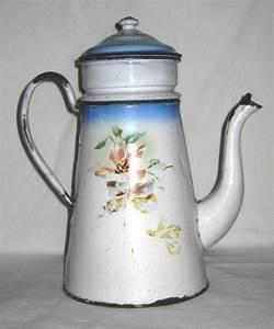 Cafetiere A L Ancienne : cafeti re ancienne en t le maill e d cor de fleurs ~ Premium-room.com Idées de Décoration