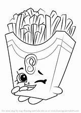 Coloring Fries French Shopkins Draw Drawing Fiona Pie Step Cherry Shopkin Colouring Printable Drawings Sheets Drawingtutorials101 Doodle Tutorials Season Getdrawings sketch template