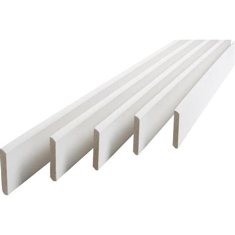 plinthe de recouvrement leroy merlin lot de 5 plinthes m 233 dium mdf arrondies peint blanc 9 x 70 mm l 2 m leroy merlin