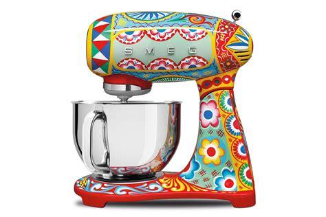 dolce gabbana  smeg appliances  toaster juicer