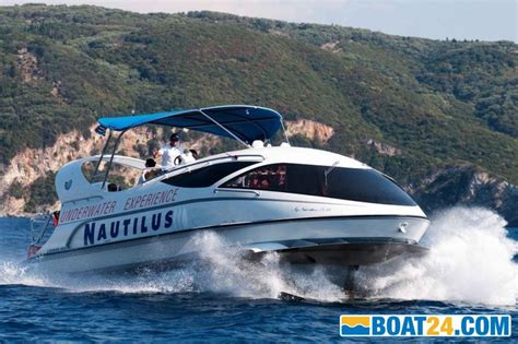Hydrofoil Glass Bottom Boat by Paritet Boats Hydrofoil Glass Bottom Eur 220 000