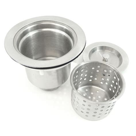 Kitchen  Bar Sink Basket Strainer With Lift Out Basket