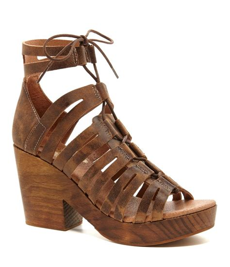 lace up shoes freebird ibiza lace up ghillie sandals dillards