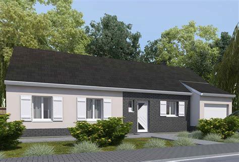 prix maison plain pied 4 chambres plan maison individuelle 4 chambres 14 habitat concept
