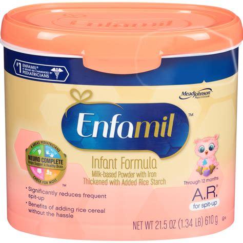 Enfamil Arinfant Formula For Spit Up Milk Based Powder